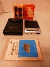 Vintage PANASONIC AM Radio Pack CJ-901UE Box, Case, Manual-8 Track Converter 1