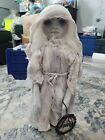 "Rosebabys handmade ghost soft doll collectible 21"" tall Halloween spirit decor"