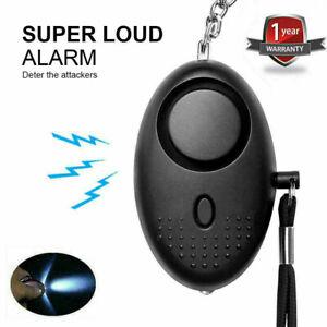 Rape Alarm Police Approved Self Defense Keychain 140dB Emergency Loud Safe Sound