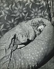 1955 Vintage 16x20 MONTREUIL BABY Sleeping France Art By ROBERT DOISNEAU Bresson
