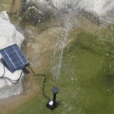 Solar Power Water Pump Panel Kit Fountain Pool Garden Submersible Watering YOY