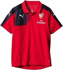 ARSENAL PUMA POLY/COTTON TRAINING SHIRT TAGS/PACKET XLARGE BOYS(32/34)