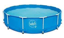 Metal Frame Pool 457 x 122cm Swimmingpool 4,57 x 1,22m