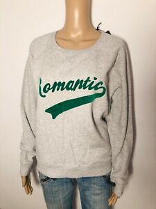 Scotch & Soda - cooles Sweatshirt ROMANTIC in grau meliert-  Neu Gr. 2 M 3423mä
