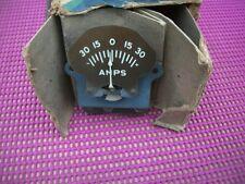NOS MoPar 1934 Desoto Airflow Amp Ammeter Gauge