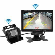 "Windows Dual Lens 7"" HD 1080P In Car Truck DVR Camera Recorder Video Dash Cam"