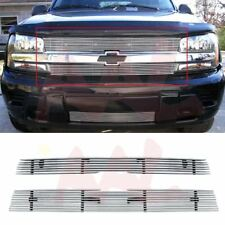 AAL 2002 03 04 05 Chevy Trailblazer LT/LS/SS Upper Billet Grille Insert Cut out
