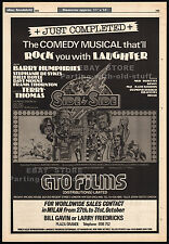 SIDE BY SIDE__Original 1975 Trade AD / movie poster__BARRY HUMPHRIES (Dame Edna)