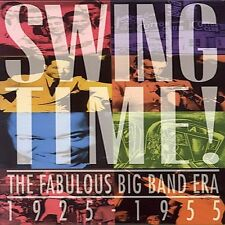 Swing Time: The Fabulous Big Band Era 1925-1955 3 CD BOX NEW STILL SEALED RARE