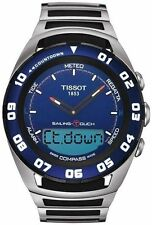 Tissot Stainless Steel Case Adult Digital Watches