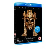 Official WWE Triple H : Thy Kingdom Come Blu-Ray 2 Disc Set (Pre-Owned)