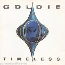 GOLDIE - Timeless (UK 8 Track 1995 CD Album)