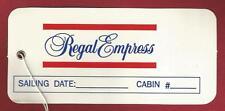 ss REGAL EMPRESS.. Regal Cruises..   1993...Vintage Bag Tag  (new)