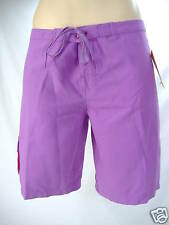 New Junior Womens 7 ROXY Roots Purple Surf Swim Suit Board Shorts $35