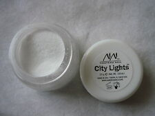 NOUVEAU NAIL CITY LIGHTS 3.5g NO -10- WINTERPEG  WHITE ARYLIC POWDER  -  ACRYLIC