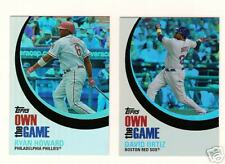 2007 Topps Own the Game Insert Set of 25