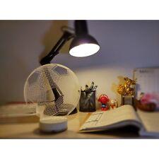 Soccer Football 3D Illusion 7 Color Change Night Light Desk Table LED Art Lamp