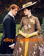 OUTLANDER  -  Caitriona Balfe with Sam Heughan  -  8x10 Photo  #11