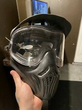 Empire Helix Paintball Mask Protective Goggle w/ Clear Single Pane Lens Black