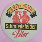 alter Bierdeckel SCHMIEDEFELDER BIER 🍺 SCH-10