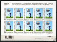 Nederland NVPH 2635 Vel Persoonlijke zegels NGF Golf 2009 Postfris