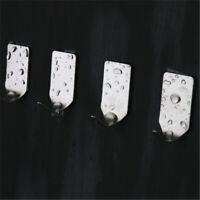 Living Kitchen Holder Storage Seamless Adhesive Hook Traceless Hanger Wall Rack