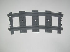 Lego ® RC Rail Courbe Chemin de Fer Train 9 v Dark Stone Grey ref 53400 NEW