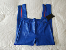 Nwt Hurley Racer Blue Faux Leather Skinny Pants Sz. L 12-13 Yrs New