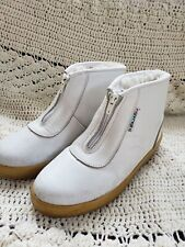 VTG Rare Pajar Womens Ankle Boots Size 7.5  Shearling & Fur Liner Made in Italy