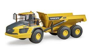 Volvo Hauler A60H Dumper Truck - Bruder 02455 - Scale 1:16 NEW