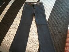 Pantalon en jean bleu    femme  TAILLE  34   MANGO    BONNE ÉTAT