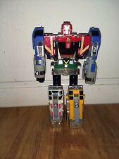 Power Rangers Lightspeed Rescue DELUXE Omega Megazord diecast robot transformer