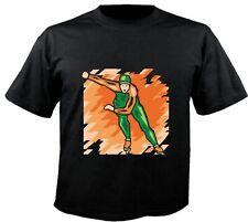 Motiv Fun T-Shirt Eislauf Eisschnelllauf Eiskunstlauf Sport Motiv Nr. 6228