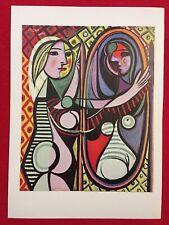 """PICASSO PABLO 4129 JACQUELINE AU CHAPEAU A FLEURS-Artwork Reproduc 14/"""" x 11/"""""""