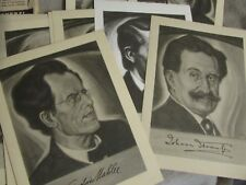 RARE IMMORTAL MEN OF MUSIC MINIATURE PICTURES 22 PICS OF COMPOSERS MIP