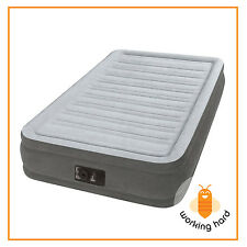 TWIN AIRBED MATTRESS Inflatable Camping Guest Air Bed Blow Up Electric Pump