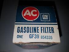 NOS GM ORIGINAL AC FUEL FILTER GF39