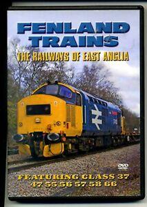 FENLAND TRAINS  TYHE RAILWAY OF EAST ANGLIA    POST FREE