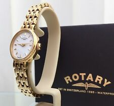 ROTARY Ladies Watch Gold plated Genuine VGC Boxed RRP£169 (r42