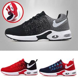 Men Casual Shoes Running Walking Air Trainers Jogging Gym  Athletic Sneaker Mesh