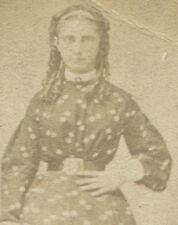 SOPHIA WOELFEL IN CONFIRMATION DRESS. CDV. ALLEGHENY, PA.