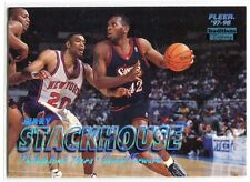 1997-98 Fleer Tiffany Collection 255 Jerry Stackhouse