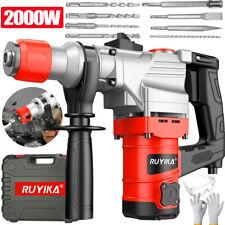 2000W Bohrhammer SDS-Plus Schlaghammer Meißelhammer Schlagbohrmaschine + Zubehör