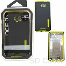 Incipio DualPro Shock Absorbing GRAY/ NEON YELLOW Case for HTC Droid DNA