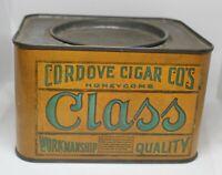 Vintage CLASS  pipe cigarette tobacco tin