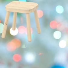 *New* FLIAST Children's stool 24x24x28 cm 402.735.93 *Brand IKEA*