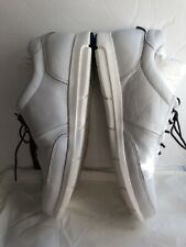 BIRKENSTOCK Women White LEATHER LACE UP SNEAKERS Comfort Shoes Size 11