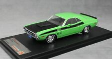Premium X Dodge Challenger T/A in Green 1970 PRD407J 1/43 NEW Limited Edition