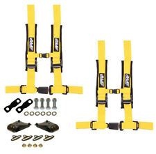 "PRP 4 Point 2"" Harness Seat Belts Automotive Latch Harness Kit Yellow YXZ 1000R"