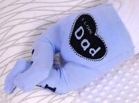 Baby Strumpfhose I Love Mum Dad 48 50 56 62 68 74 Liebe Papa Mama Neugeborene